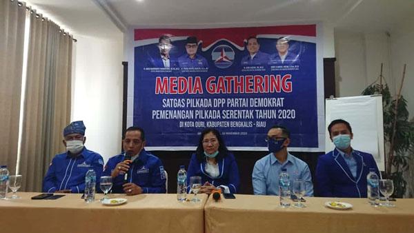 DPD Partai Demokrat Riau Gelar Rakorda Pemenangan Pilkada Serentak