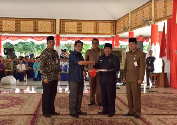 Bank Riau Kepri Serahkan CSR  untuk Pemkab Bengkalis