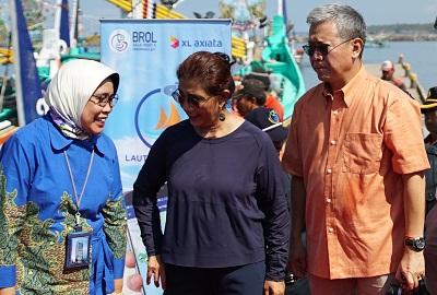 "Menteri Kelautan dan Perikanan Resmikan  Aplikasi Untuk Nelayan ""Laut Nusantara"""
