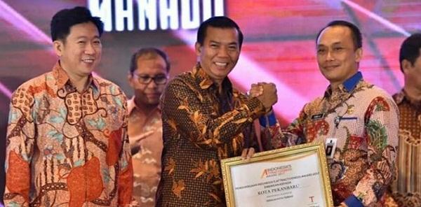 Pekanbaru Raih Penghargaan Indonesia Attractiveness Award 2017