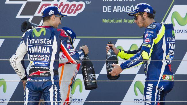 Valentino Rossi Optimistis Jorge Lorenzo Sukses di Ducati