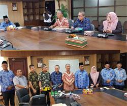 Rektor UIR Laporkan Kesiapan LLDIKTI Entrepreunership Award ke Plt. Gubri