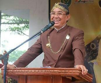 Bupati Inhil Hadiri Peringatan Tahun Baru Islam di Kecamatan Kempas