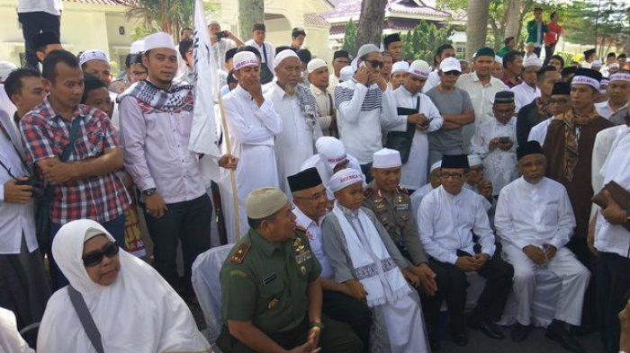 Tiga Pejabat Penting Riau Ikut Demo Bela Islam Jilid III