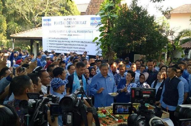 Demokrat: Selamat Ulang Tahun SBY!