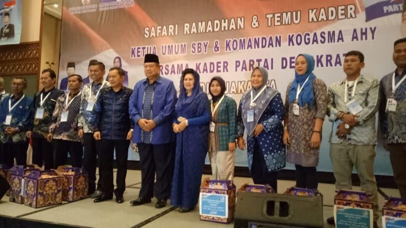 DPD PD Riau Utus Delegasi Dengarkan orasi Politik AHY.