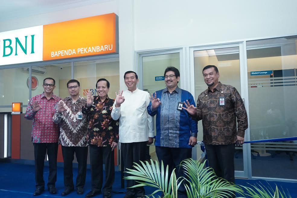 BNI Sediakan Layanan Pajak Daerah untuk Pemerintah Kota Pekanbaru