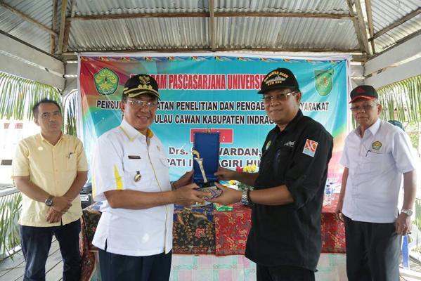 Bupati Inhil dan Universitas Riau Buka Kegiatan Penelitian dan Pengabdian Masyarakat