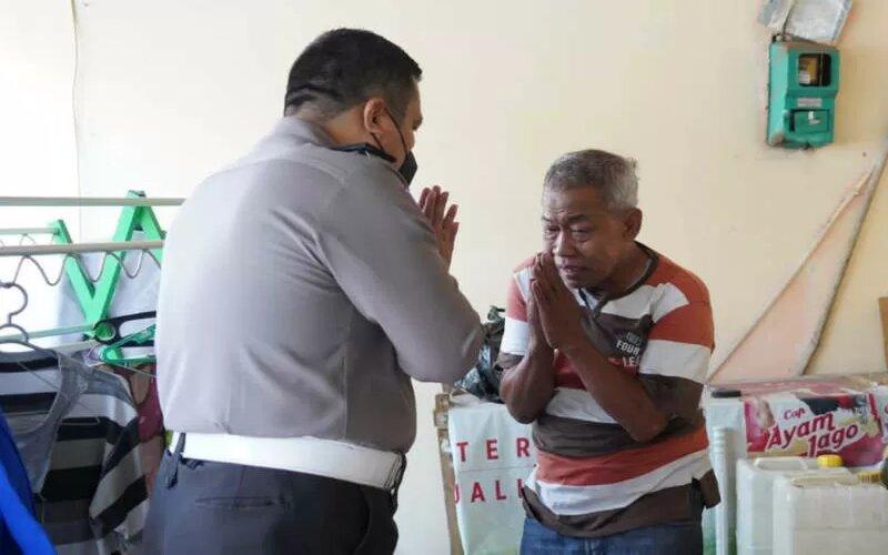 Mengharukan, Kisah Agus Pensiunan Polisi yang Jadi Pengemis