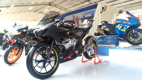 """Motor Modifikasi Suzuki di Jakarta Fair Kemayoran 2017"""