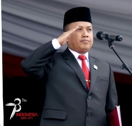 Ketua DPRD Inhil Sayangkan Tak Berkibarnya Bendera Merah Putih