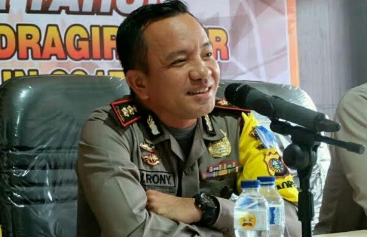 Kapolres Inhil Imbau Warga Tanjung Simpang Waspada Jelang Operasi Pengembalian Harimau
