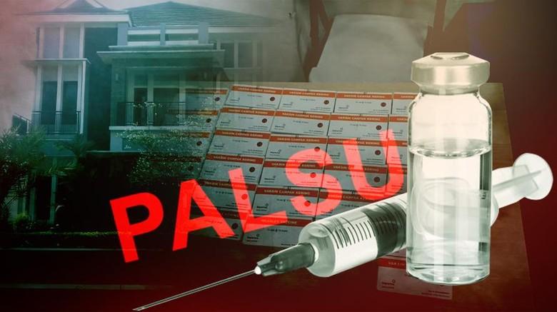 Tersangka  Kasus Peredaran Vaksin Palsu Dibongkar Polisi