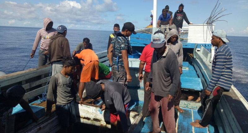 Lakukan Illegal Fishing, Kapal Triton Diciduk Bakamla RI