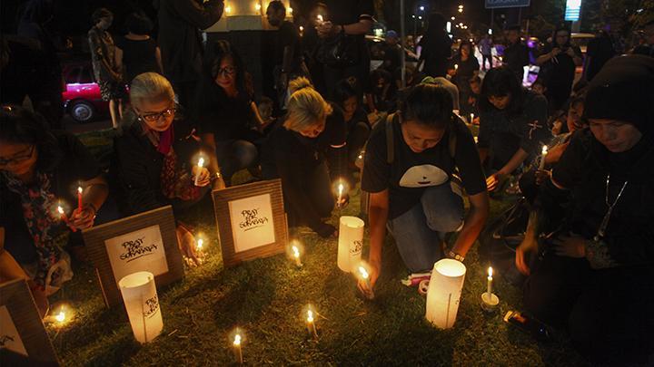 Pidato Politik AHY Dibatalkan karena Bom di Surabaya