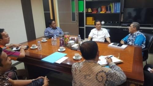 Sekda Dianto Mampanini Telah Bertemu Gubernur Riau,