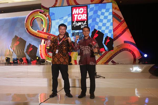Konsisten Menjadi Motor Bebek Terbaik Motor Plus Award 2018
