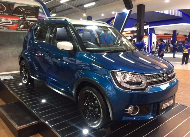Suzuki Capai Target Penjualan di Jakarta Fair Kemayoran 2017