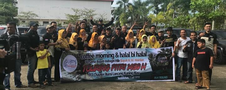 Bupati Inhil Hadiri Coffee Morning Dan Halal Bihalal Bersama TCI Chapter Bumi Lancang Kuning