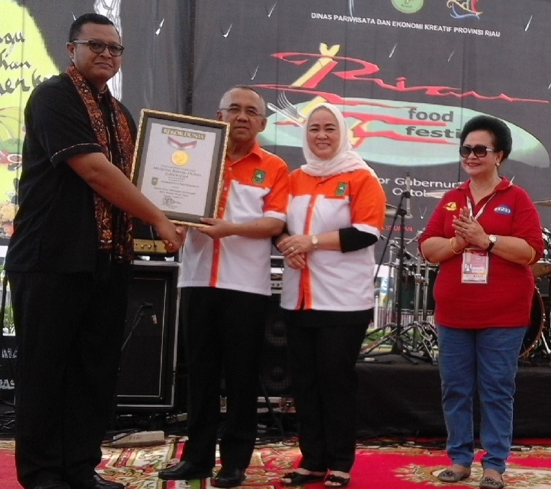 Festival Sagu Riau Pecahkan Rekor MURI