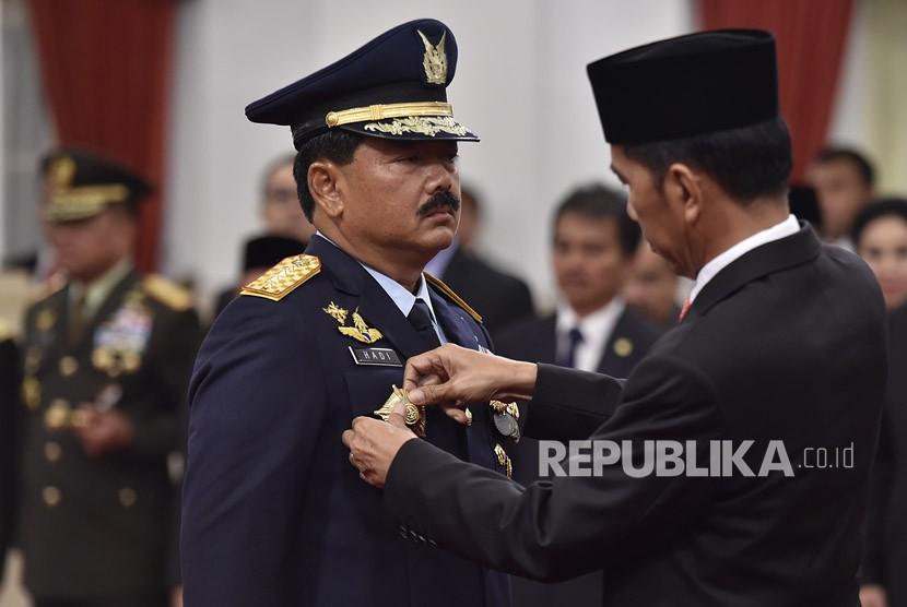 Hadi Tjahjanto Resmi Jabat Panglima TNI