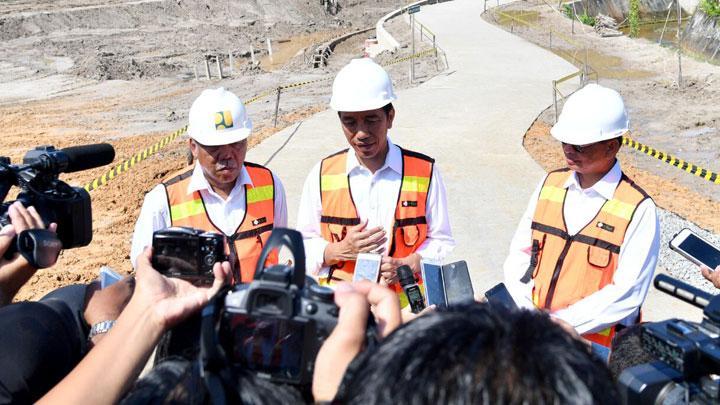 Jokowi Resmikan Tol Binjai-Medan-Tebing Tinggi