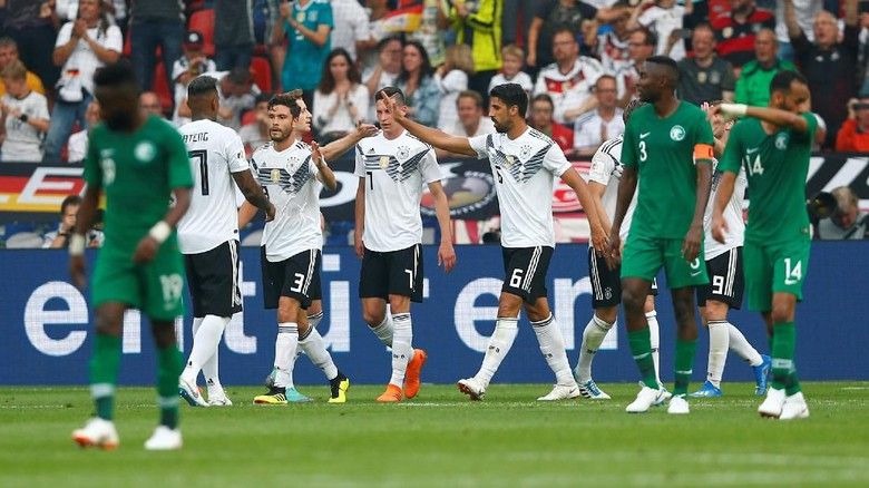 Jerman Menang 2-1 atas Arab Saudi