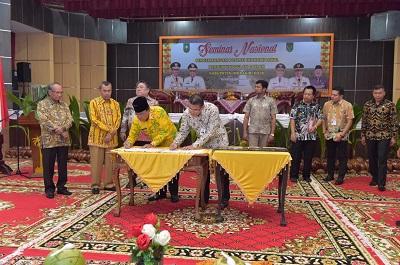 Bank Riau Kepri Serahkan CSR Kepada Pemkab Inhil