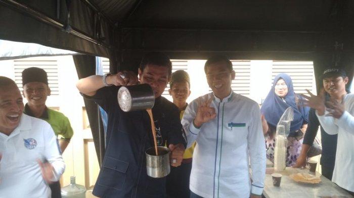 Tagline Demokrat Peduli Berisolusi, Warnai Event Sosial DPD Demokrat Riau