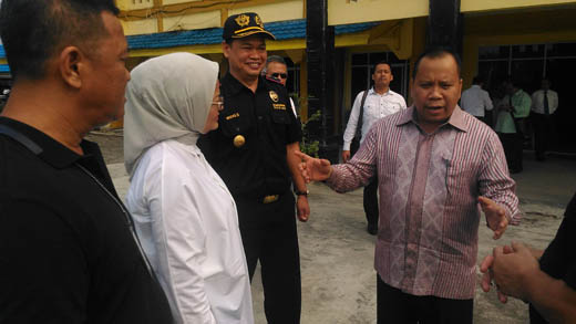 Bupati Meranti Protes Sidak BPOM Riau di Pelabuhan Selatpanjang