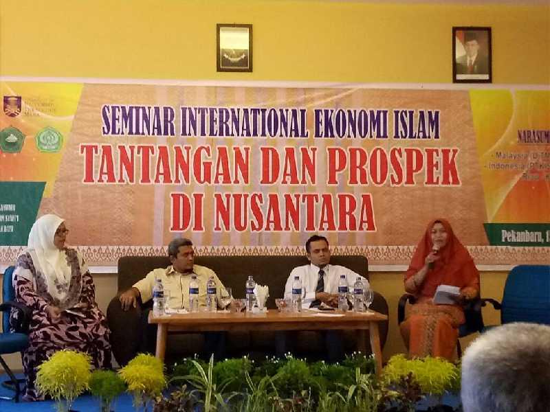 Gandeng UiTM Malaysia, 7 PTAIS Kopertais Wilayah XII Gelar Seminar Ekonomi Islam