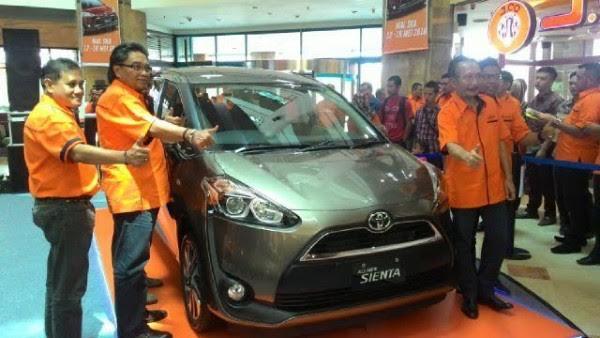 Agung Toyota Targetkan 150 Unit Sienta Terjual