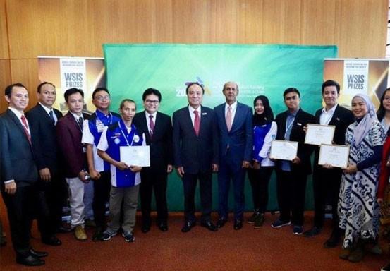 Program CSR Baktiku Negeriku Telkomsel Menangkan Dua Gelar Champion