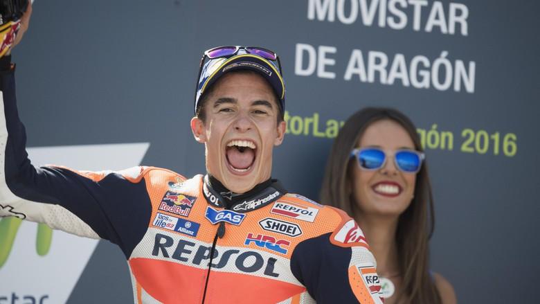 Marc Marquez Juarai MotoGP Ceko