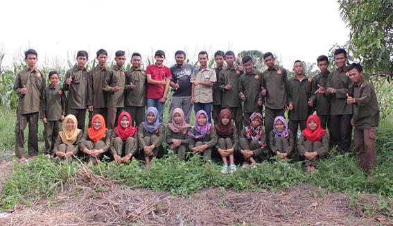 SMK Pertanian Magang di Inkubator
