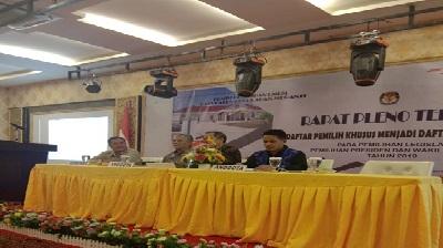 Tiga Komisioner KPU Riau, Diperbantukan Tugas ke KPU Meranti