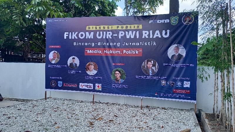 Besok, Fikom UIR Gelar Diskusi Bersama DPRD dan PWI Riau di Mabest Kopi