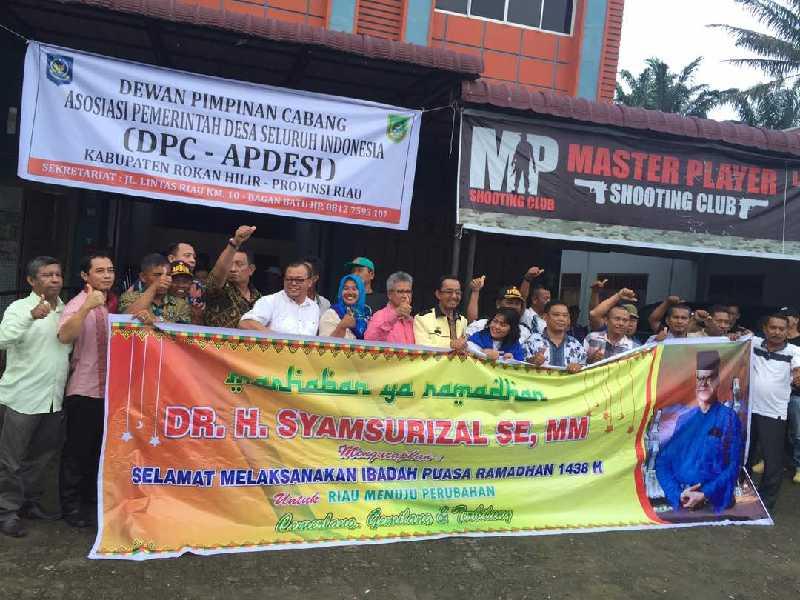 Maju di Pilgubri 2018, Syamsurizal Jadikan Pembangunan Desa Program Prioritas