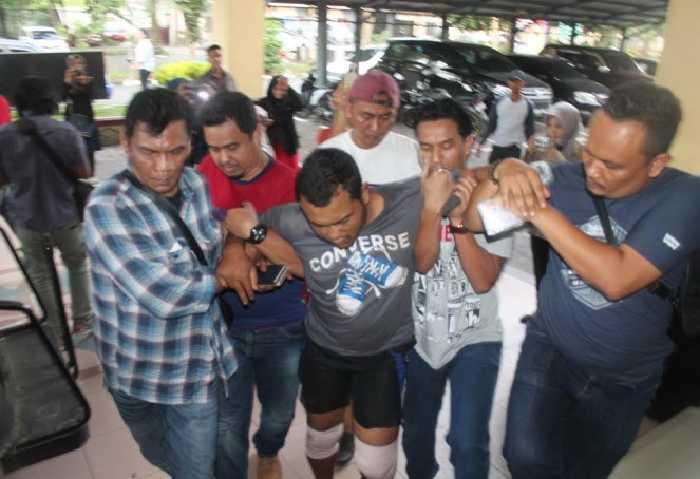Andi Lala, Pembunuh Satu Keluarga di Medan yang Ditangkap di Inhil Psikopat