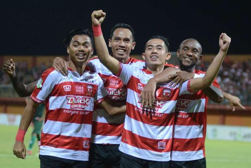 Madura United Ancam Taklukkan Sriwijaya di Padang