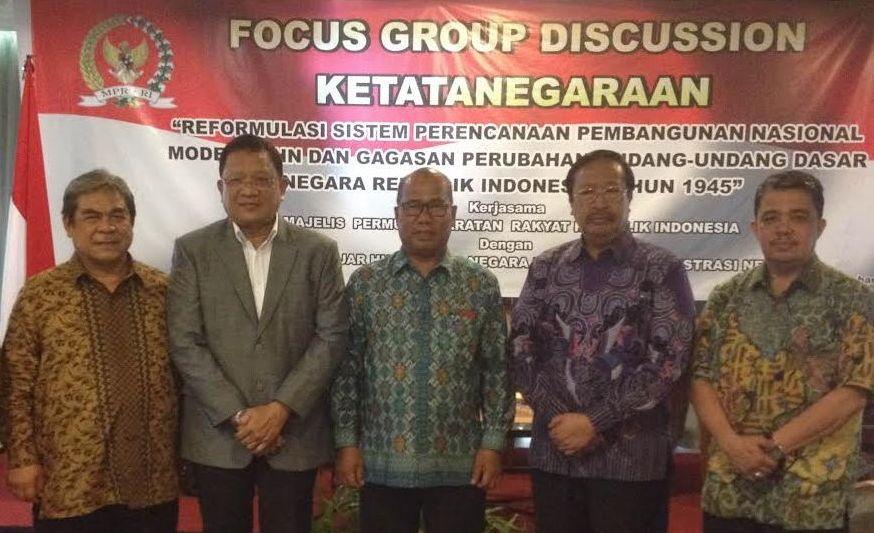 MPR dan Pakar Hukum Riau Kaji GBHN