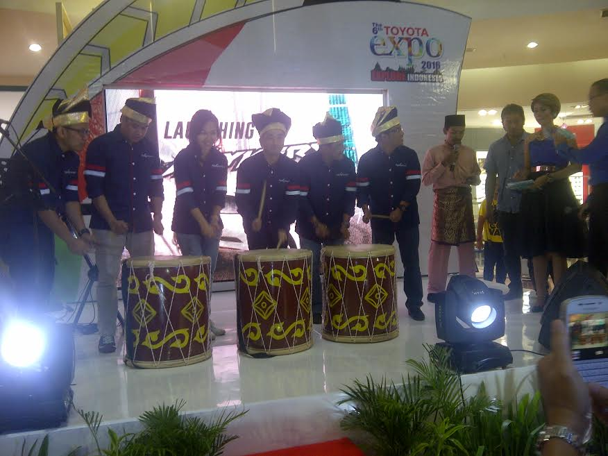 Toyota Expo 2016 'Ekplore Indonesia' di Mall SKA Pekanbaru