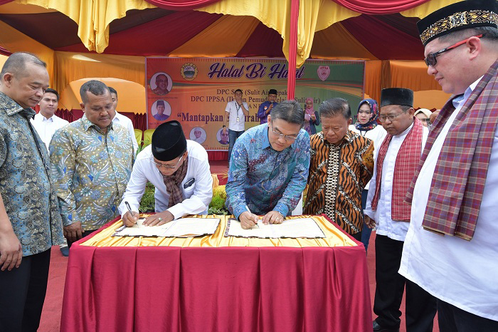 Bank Riau Kepri Jalin Kerjsama dengan  Korwil II Sulit Air Sepakat (SAS)