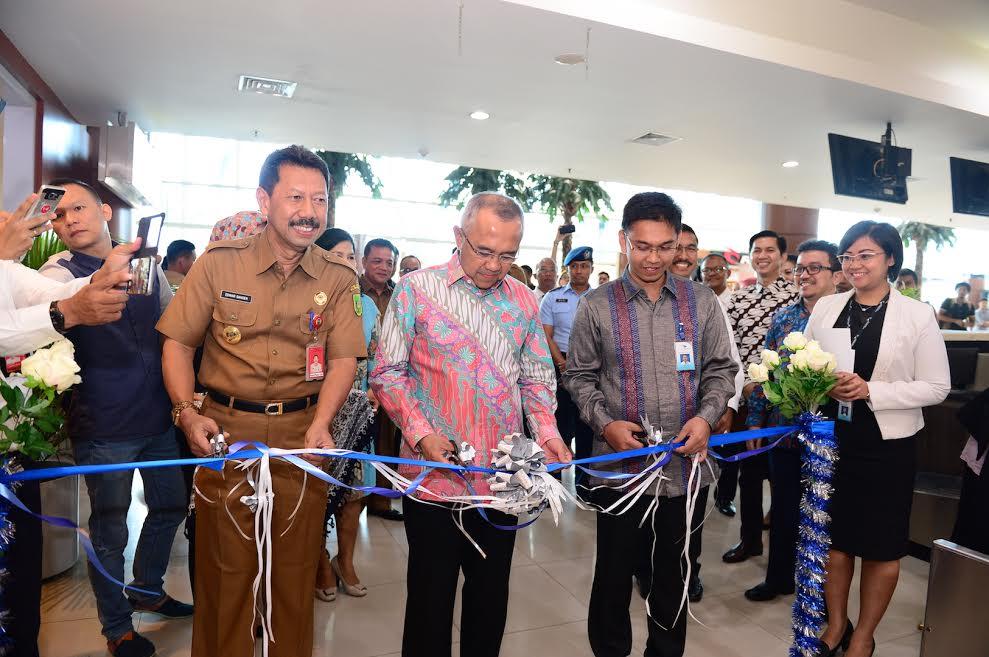 Gubri Hadiri Peresmian Lounge Garuda Indonesia