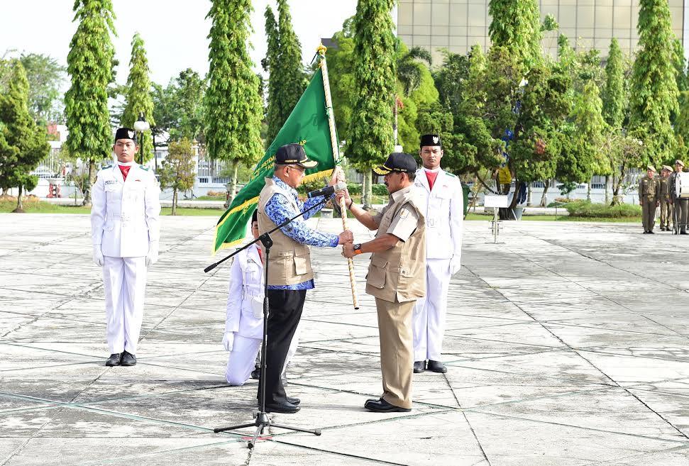 Gubri Kukuhkan Satuan Tugas PTSL Kakanwil BPN Prov Riau