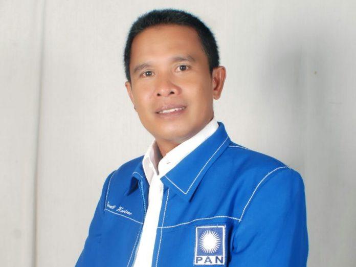 Ketua DPD PAN lnhu Ramaikan Bursa Pilbup 2020