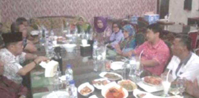 Usai Dilantik Langsung Silaturrahmi dengan DPRD Riau Dapil 5