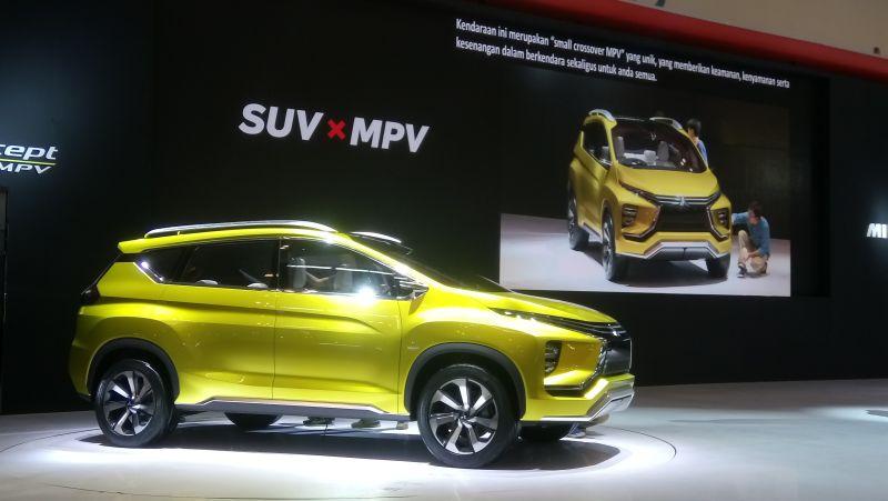 Dua Proyek Besar Mitsubishi di Indonesia, Pabrik & Small Crossover MPV