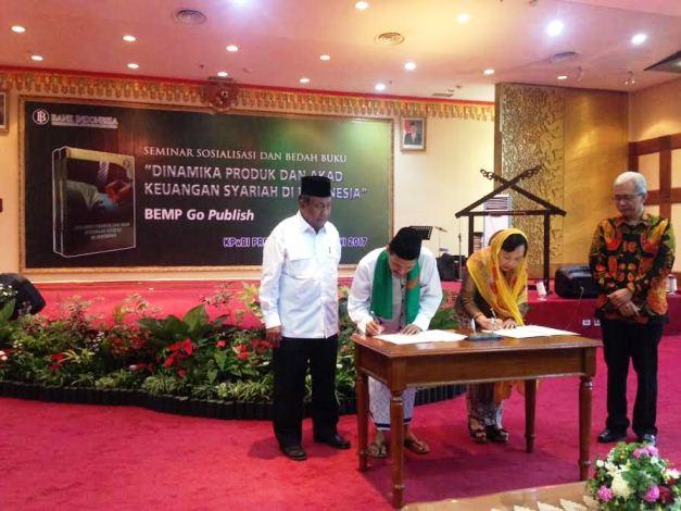 BI Teken MoU dengan 17 Pesantren di Riau