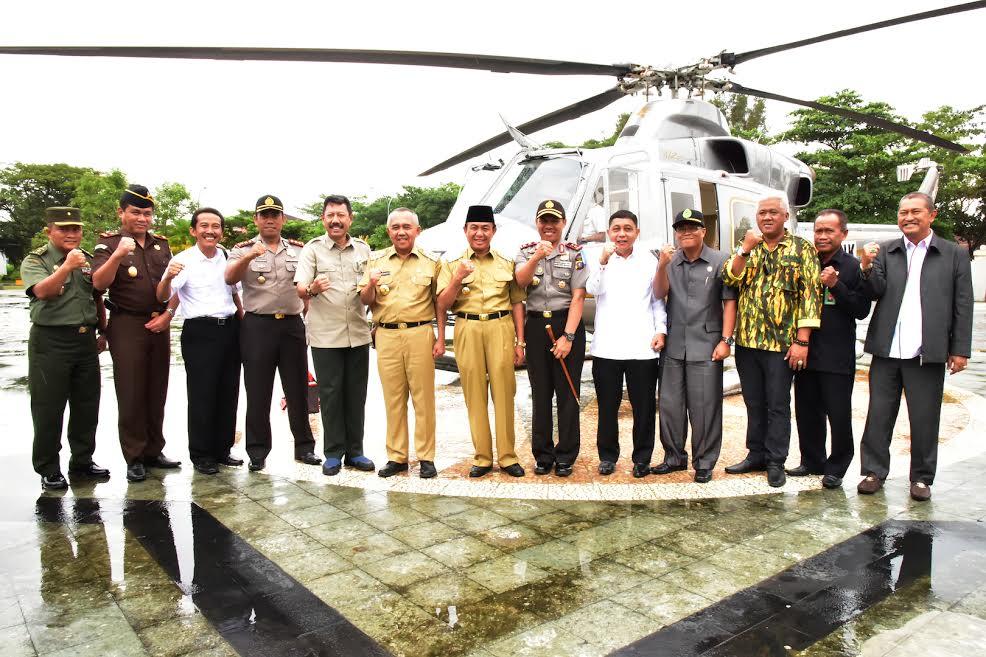 Gubri hadiri Musrenbang RKPD Kab Inhil Tahun 2017